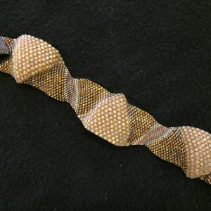Gold Peyote Weave