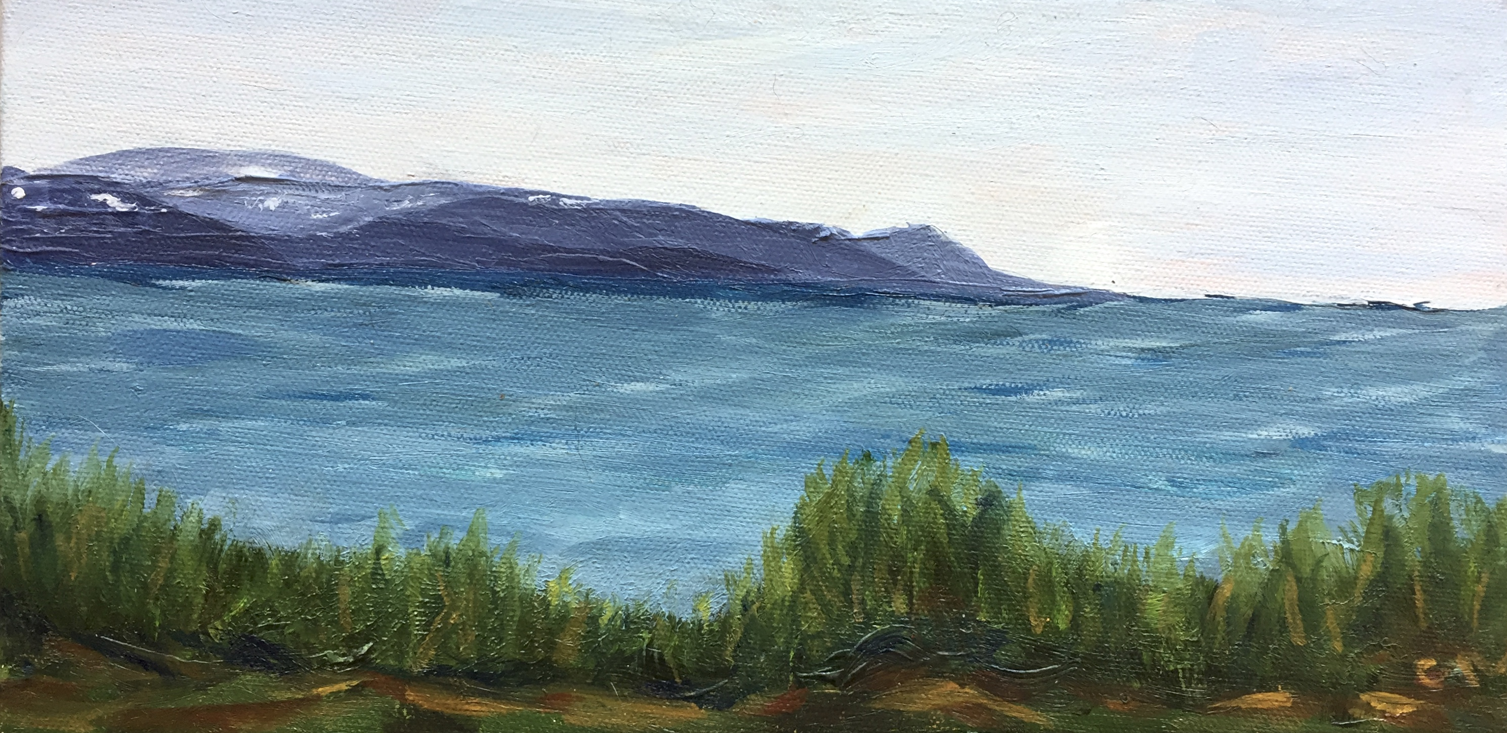 Kachemak Bay Summer Painting