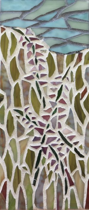 Fireweed Glass Mosaic