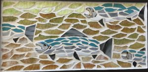 Silver Run Glass Mosaic