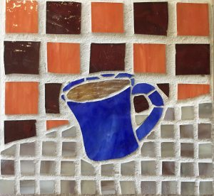 A Good Cup Glass Mosaic