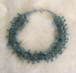 Turquoise Weave Choker